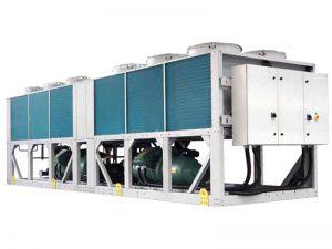 مصرف برق چیلر تراکمی هوا خنک چقدر است؟